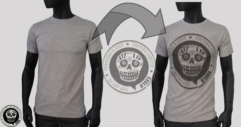 Tee shirts personnalises a nicepop art cr ateur de marques - Faire tee shirt personnalise ...
