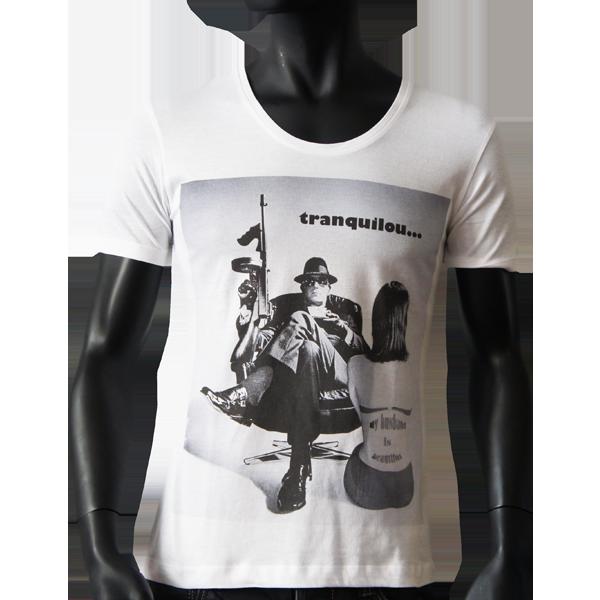 T-shirt Pop Art Tranquilou