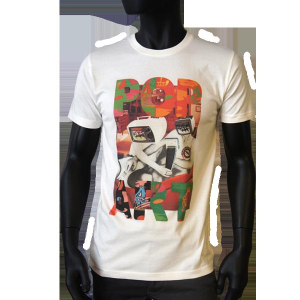 T-shirt Pop Art TV