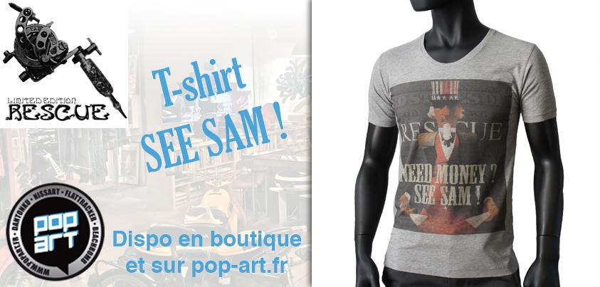 Tee-Shirt Sam Rescue
