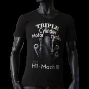T-shirt Scooped Neck noir
