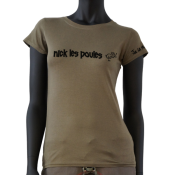 Tee-shirt Joe la Mouk - Nick les poules