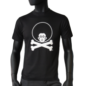 Tee-shirt coupe droite  - Afro Bones