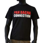 Tee-shirt noir pan bagna connection nissart
