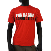 Tee-shirt rouge panbagna connection Nissart