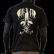 Tee-shirt noir Pan bagnat nissart
