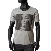 T-shirt gris chine