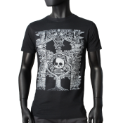 T-shirt noir Washed - TREE OF LIFE
