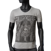 T-shirt Gris Chine - TREE OF LIFE