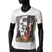 T-shirt Blanc - NEW SPY