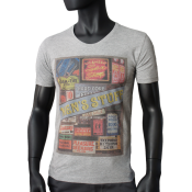T-shirt Gris Chine - MENS STUFF