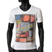 T-shirt Blanc - MENS STUFF