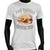 T-shirt Blanc panbagnat-connection