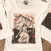 T-shirt col rond sable segurane