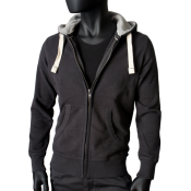 Sweat zip capuche