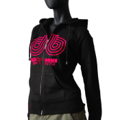 Sweat zip� avec capuche