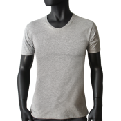 MC scooped neck gris chine N21